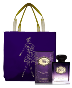 VT Perfume and tote